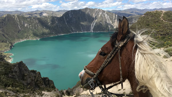 Ecuador -  Quilotoa Volcano Trail Ride in the Andes