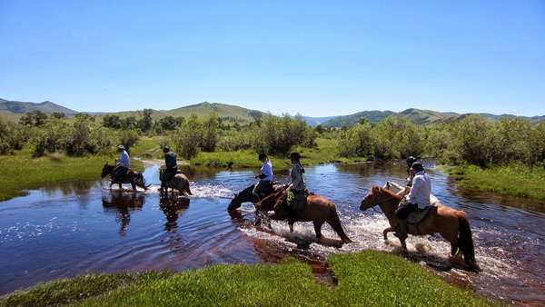 Mongolian Trail Ride