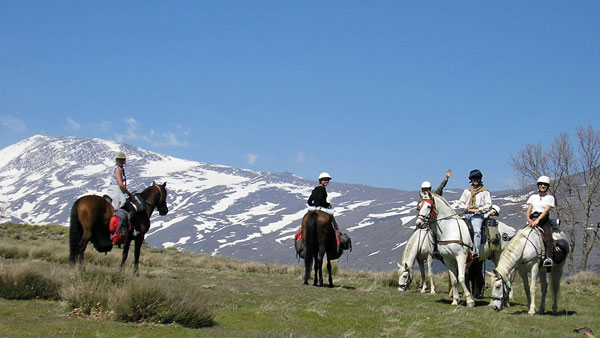 Spain, Sierra Nevada - Alpujarra Trail Ride
